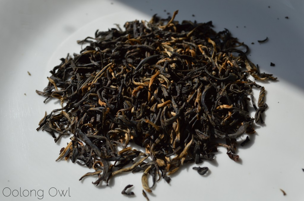 Jin Pin Black tea from Yezi tea - Oolong Owl Tea review (2)