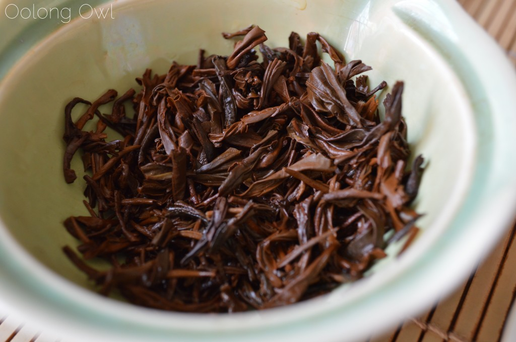 Jin Pin Black tea from Yezi tea - Oolong Owl Tea review (7)