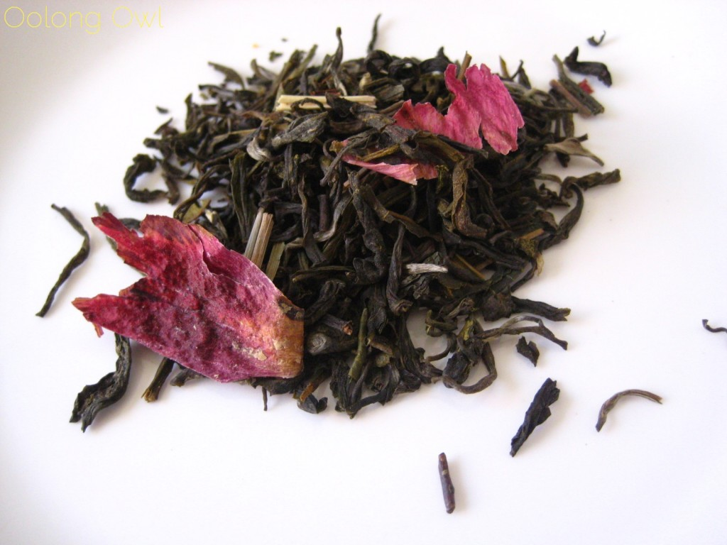 Lemon and Rose White tea - Whittard of Chelsea - Oolong Owl