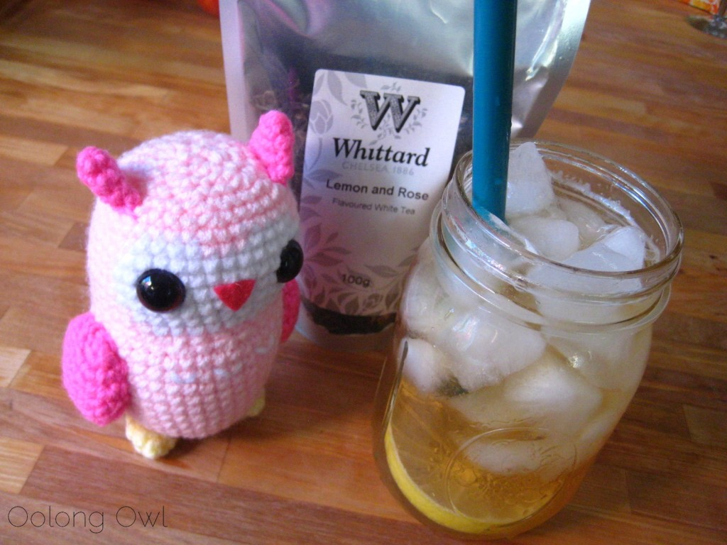 Lemon and Rose white tea from Whittard Chelsea - Oolong Owl tea review (1)