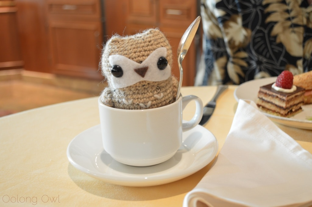 Princess Cruise Afternoon Tea With Oolong Owl