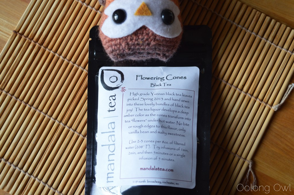 Flowering Cones Black Tea from mandala tea - Oolong Owl Tea Review (4)