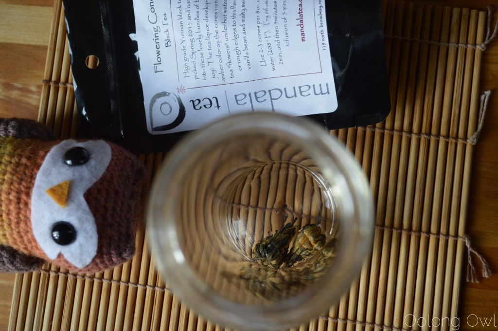 Flowering Cones Black Tea from mandala tea - Oolong Owl Tea Review (5)