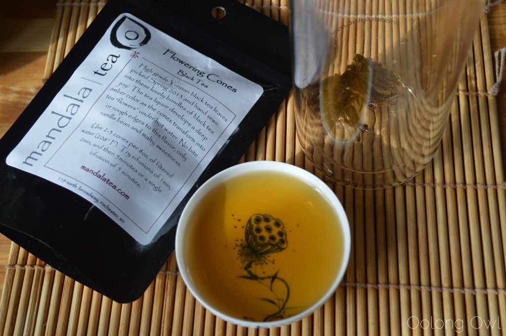 Flowering Cones Black Tea from mandala tea - Oolong Owl Tea Review (7)