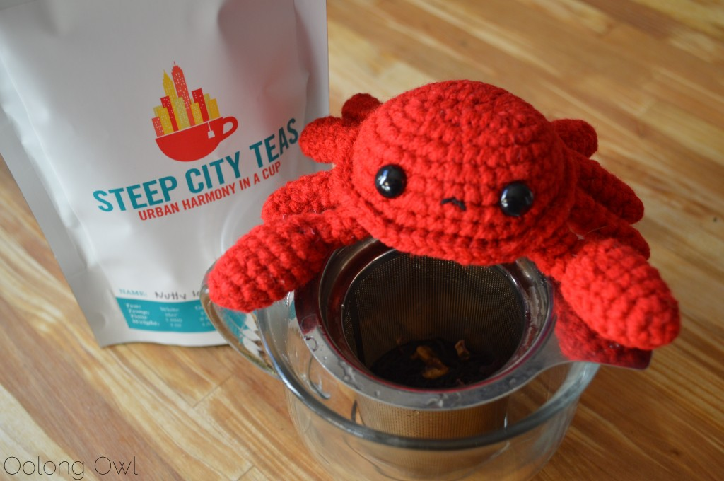 Nutty Love Black Tea from Steep City Teas - Oolong Owl Tea Review (3)