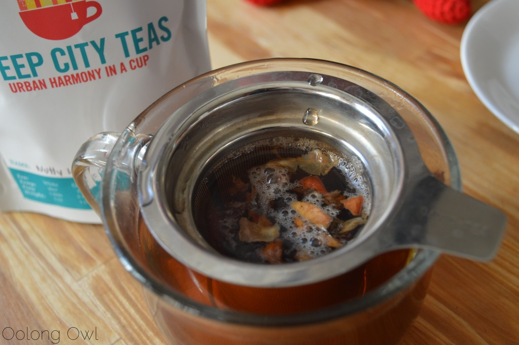 Nutty Love Black Tea from Steep City Teas - Oolong Owl Tea Review (4)