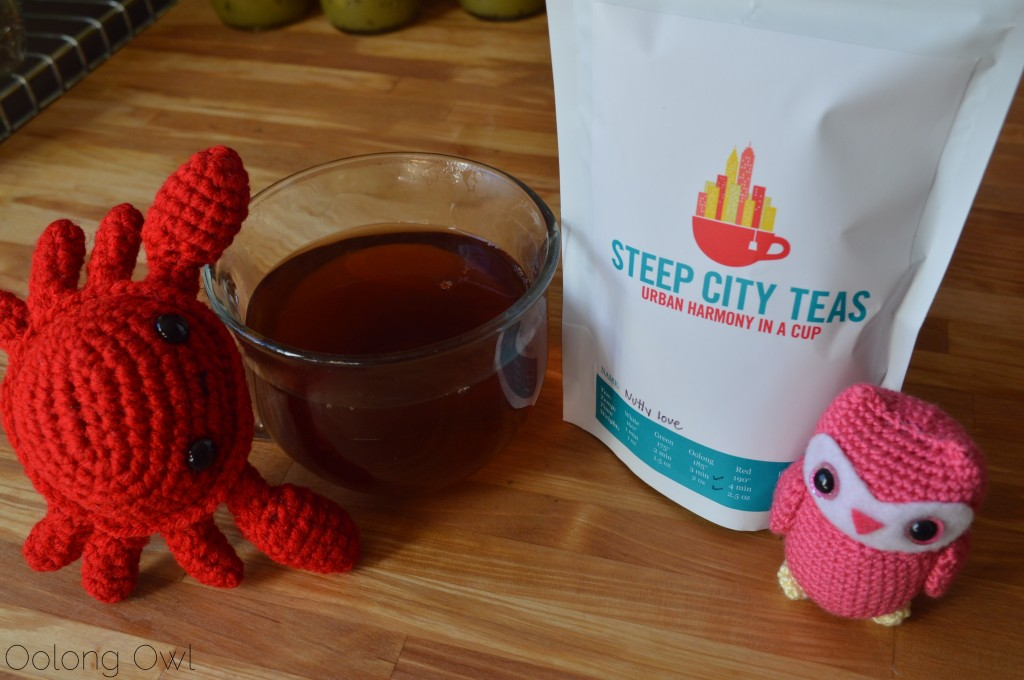 Nutty Love Black Tea from Steep City Teas - Oolong Owl Tea Review (5)