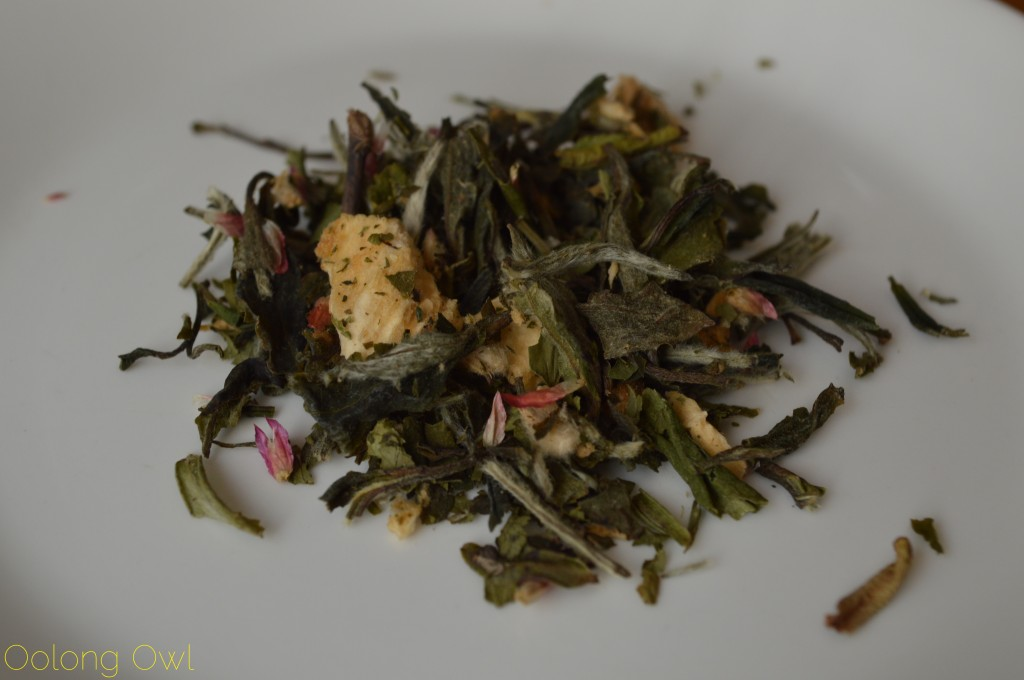 Pineapple Cilantro Cream White Tea from Butiki Teas - Oolong Owl Tea Review (2)