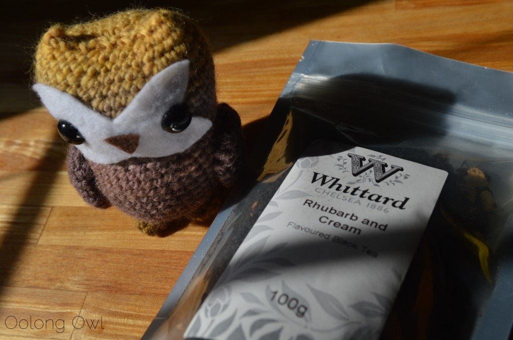 Rhubarb and Cream Black Tea from Whittard of Chelsea - Oolong Owl Tea Review (1)