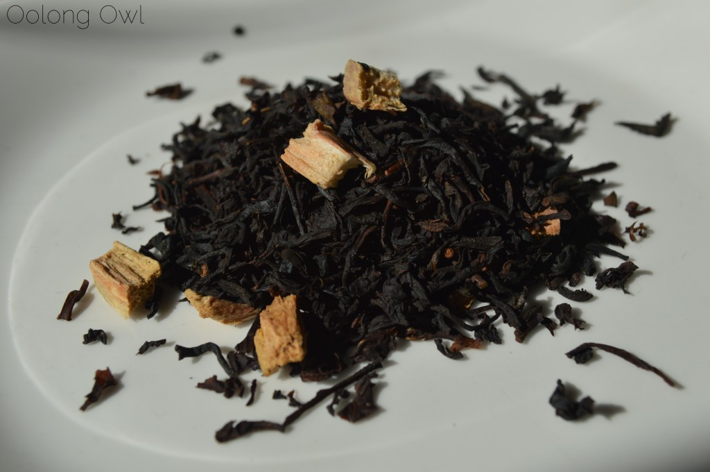 Rhubarb and Cream Black Tea from Whittard of Chelsea - Oolong Owl Tea Review (2)