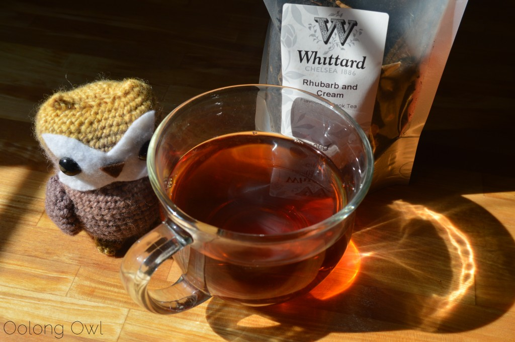 Rhubarb and Cream Black Tea from Whittard of Chelsea - Oolong Owl Tea Review (5)