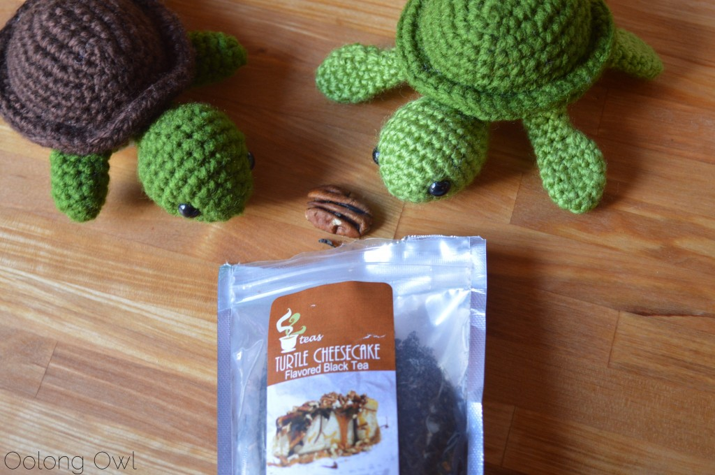 Turtle Cheesecake Black Tea from 52 Teas Zoomdweebies - Oolong Owl Tea Review (3)