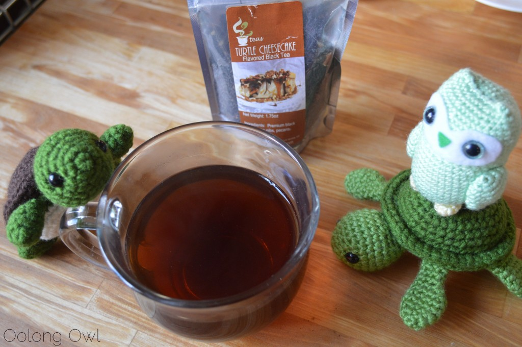 Turtle Cheesecake Black Tea from 52 Teas Zoomdweebies - Oolong Owl Tea Review (6)