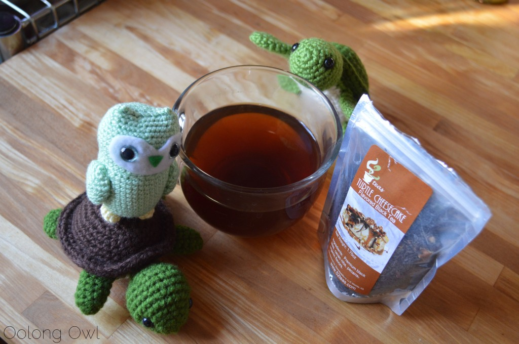 Turtle Cheesecake Black Tea from 52 Teas Zoomdweebies - Oolong Owl Tea Review (7)