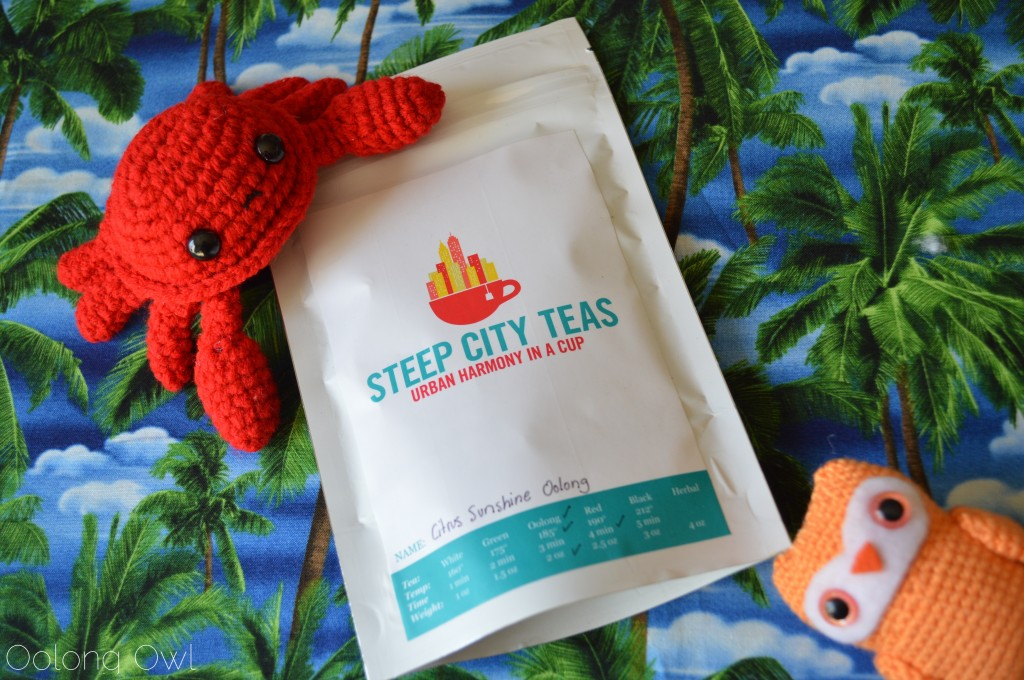 Citrus Sunshine Oolong from Steep City Teas - Oolong Owl Tea Review (1)