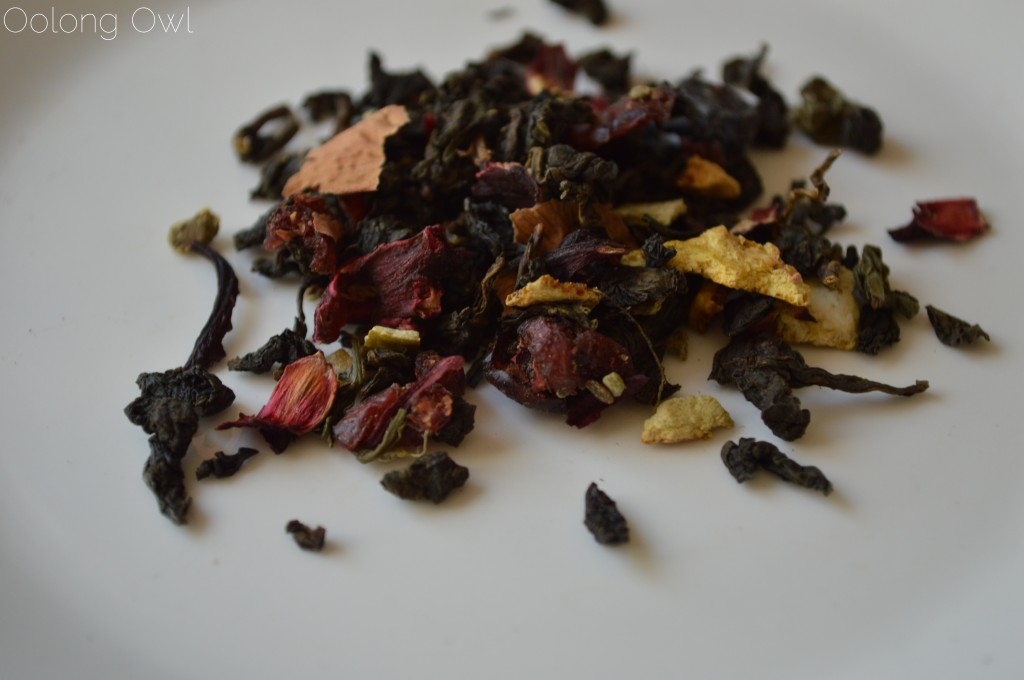 Citrus Sunshine Oolong from Steep City Teas - Oolong Owl Tea Review (2)
