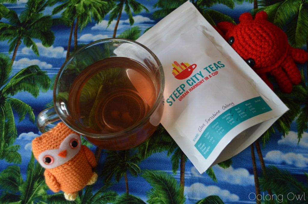 Citrus Sunshine Oolong from Steep City Teas - Oolong Owl Tea Review (4)