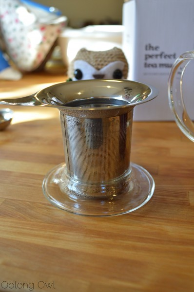 DavidsTea The Glass Perfect Mug - Oolong Owl Tea review (14)