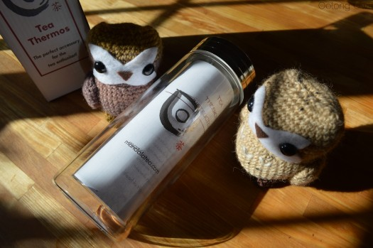 Glass Tea Thermos from Mandala Tea - Oolong Owl tea review (1)