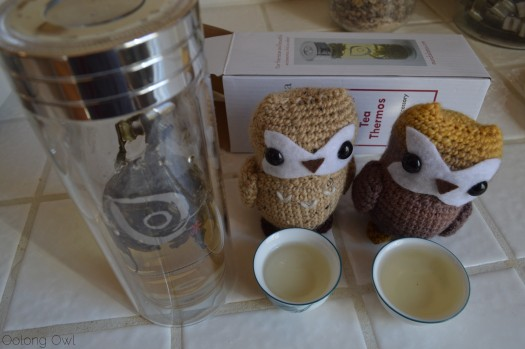 Glass Tea Thermos from Mandala Tea - Oolong Owl tea review (10)
