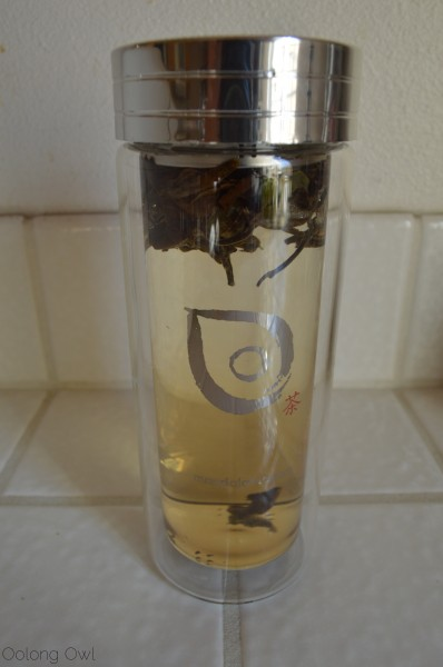 Glass Tea Thermos from Mandala Tea - Oolong Owl tea review (11)