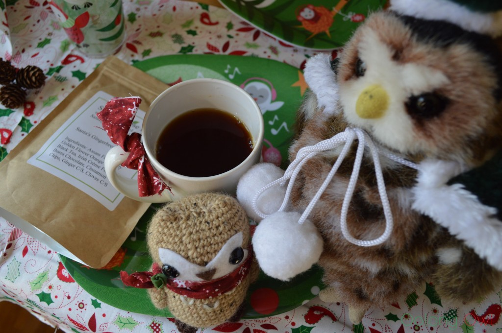 Santas Gingerbread Holiday Tea from Simple Loose Leaf - Oolong Owl Tea Review (3)