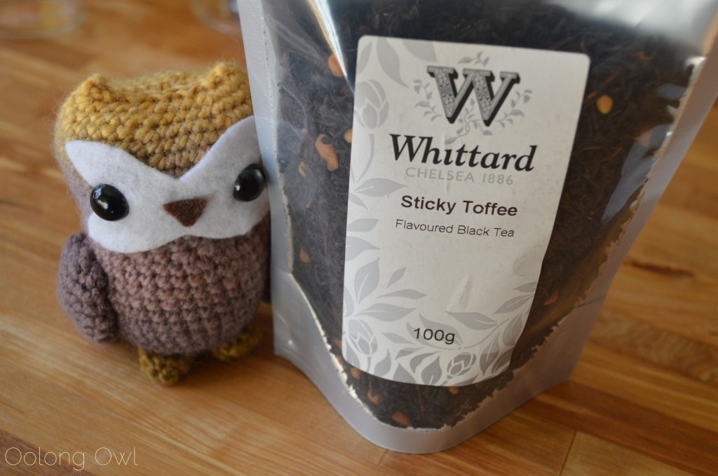 Sticky Toffee Black Tea from Whittard of Chelsea - Oolong Owl Tea Review (1)