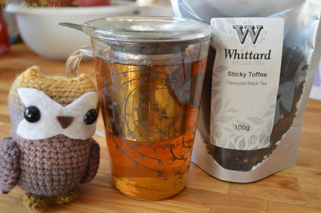 Sticky Toffee Black Tea from Whittard of Chelsea - Oolong Owl Tea Review (4)