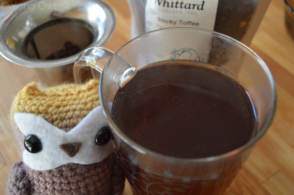 Sticky Toffee Black Tea from Whittard of Chelsea - Oolong Owl Tea Review (8)