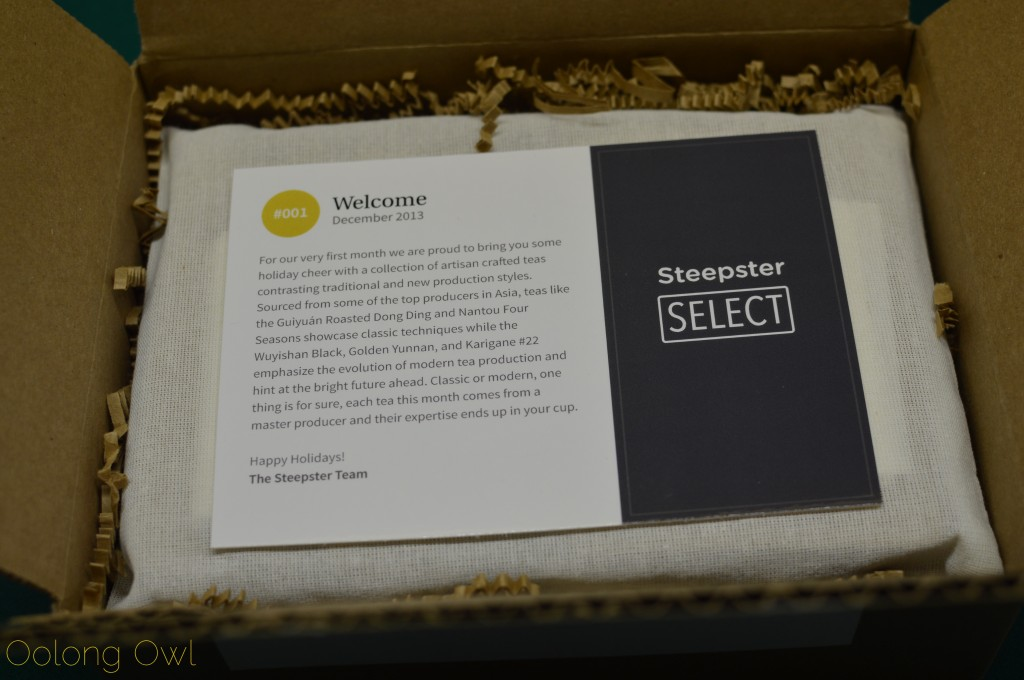Steepster Select unboxing - Oolong Owl Tea Review (1)