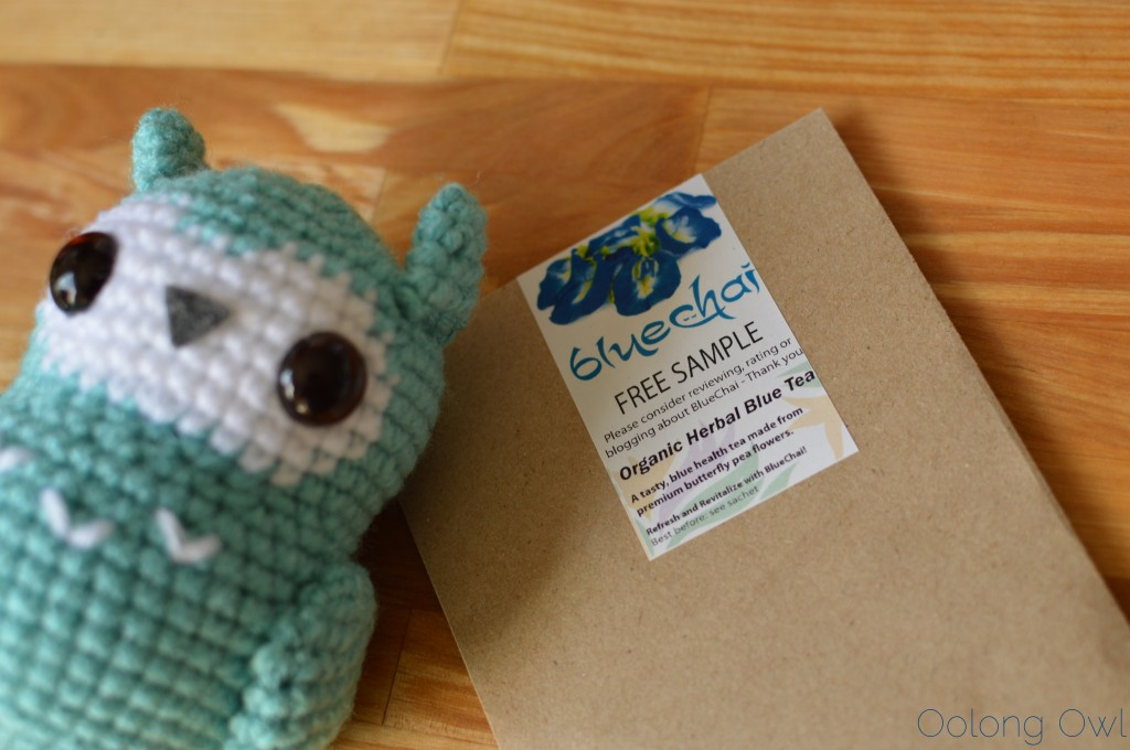 BlueChai organic herbal blue tea - Oolong Owl Tea Review (1)