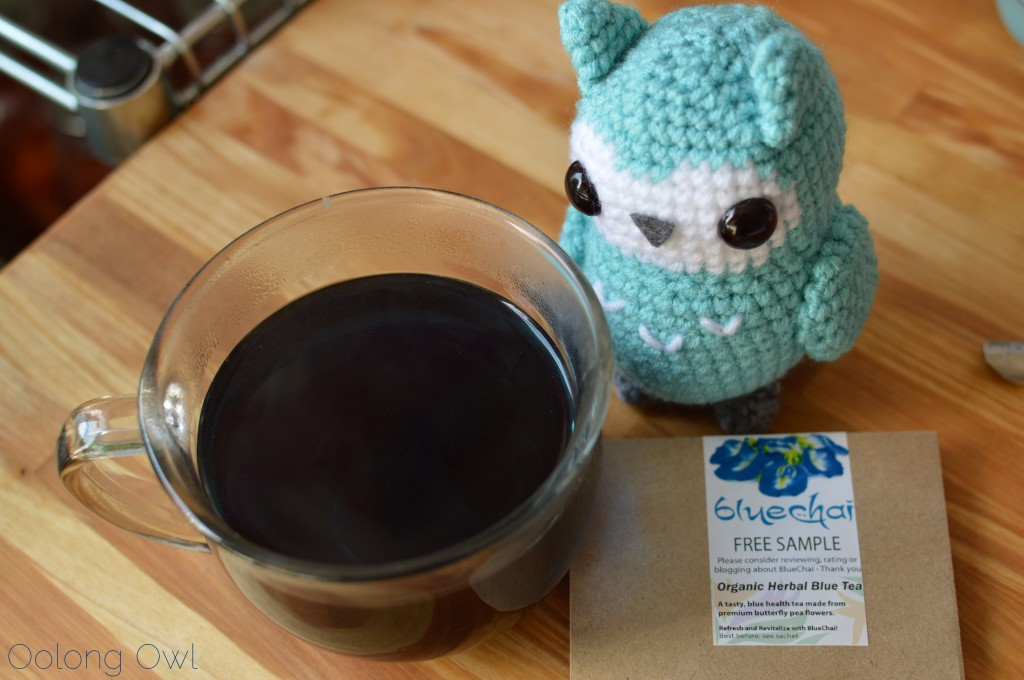 BlueChai organic herbal blue tea - Oolong Owl Tea Review (9)