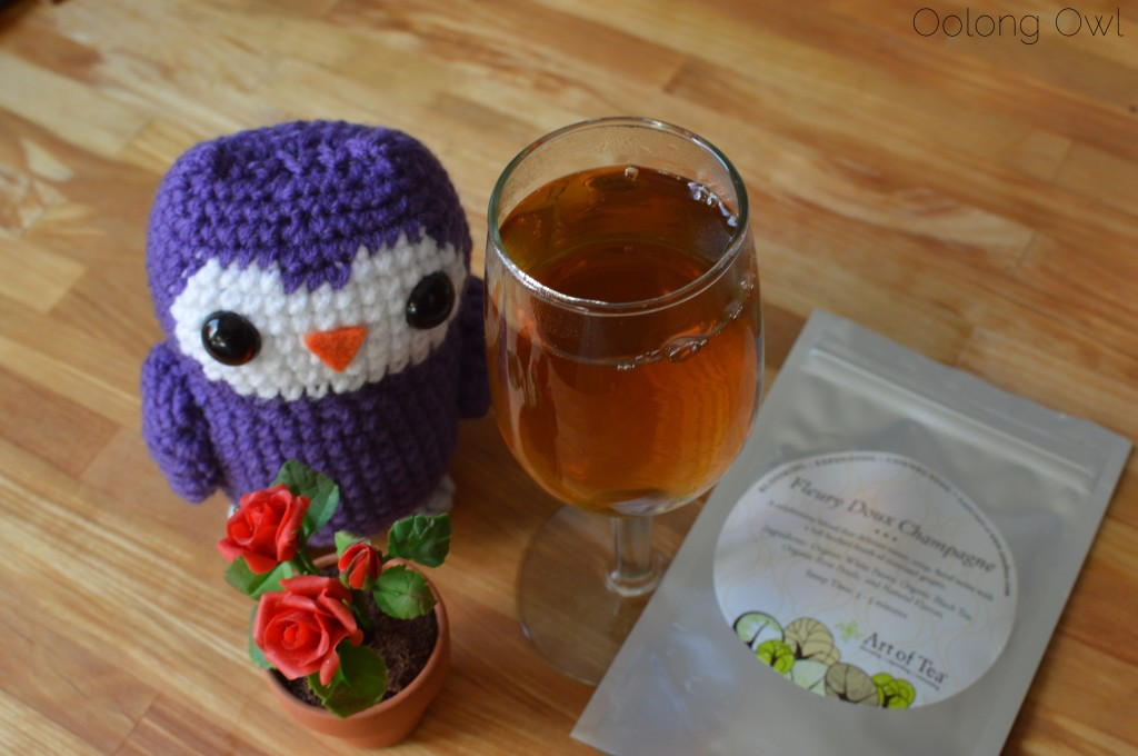 Fleury doux champagne tea from art of tea - oolong owl tea review (3)