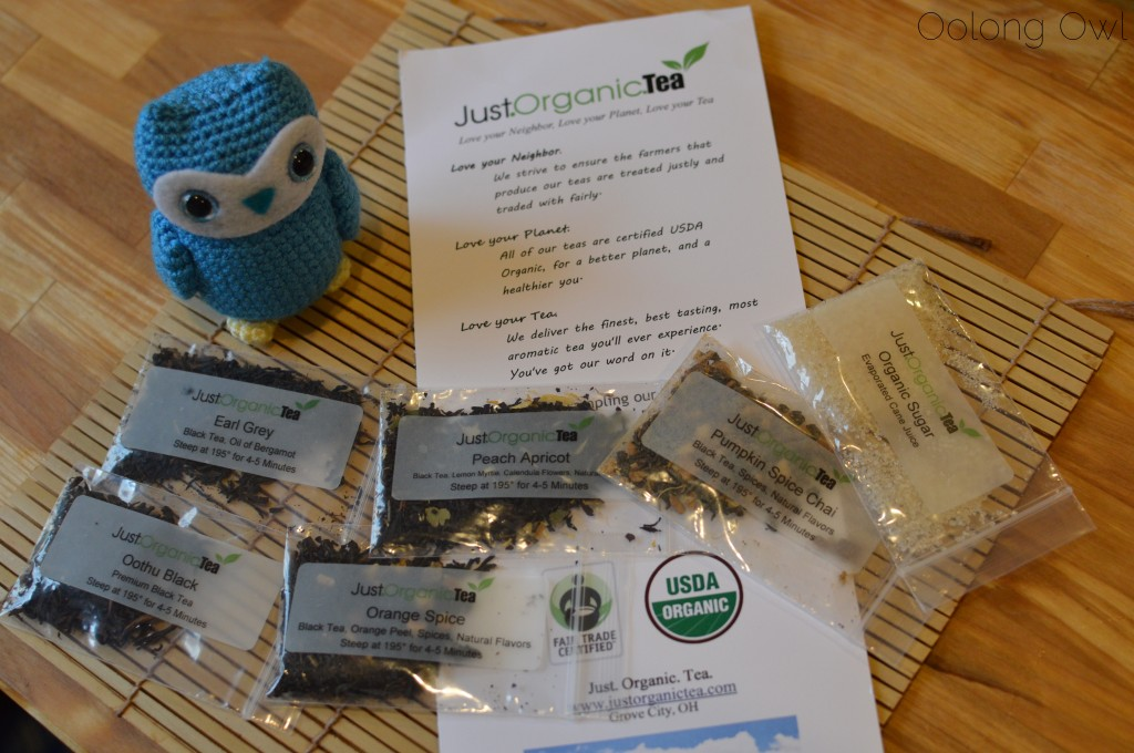 Just organic tea - Oolong Owl tea review (1)