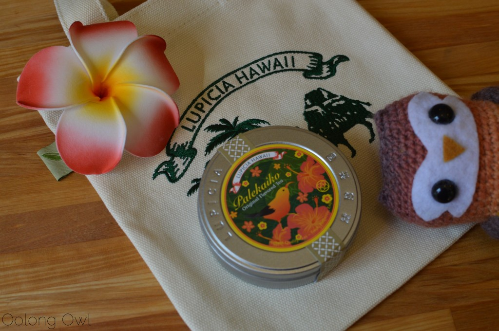 lupicia hawaii original tea blends collection - oolong owl tea review (1)