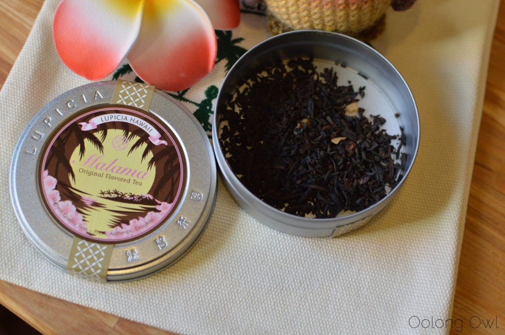 lupicia hawaii original tea blends collection - oolong owl tea review (10)
