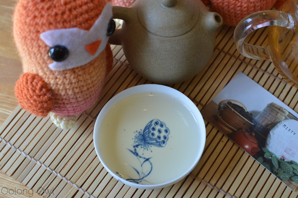 autumn 2014 sheng yiwu mountain puer from Misty peak teas - oolong owl tea review (3)