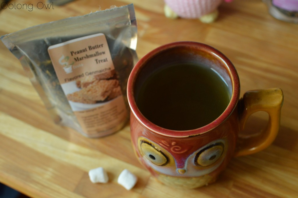 marshmallow treat genmaicha from 52 teas - oolong owl tea review (13)