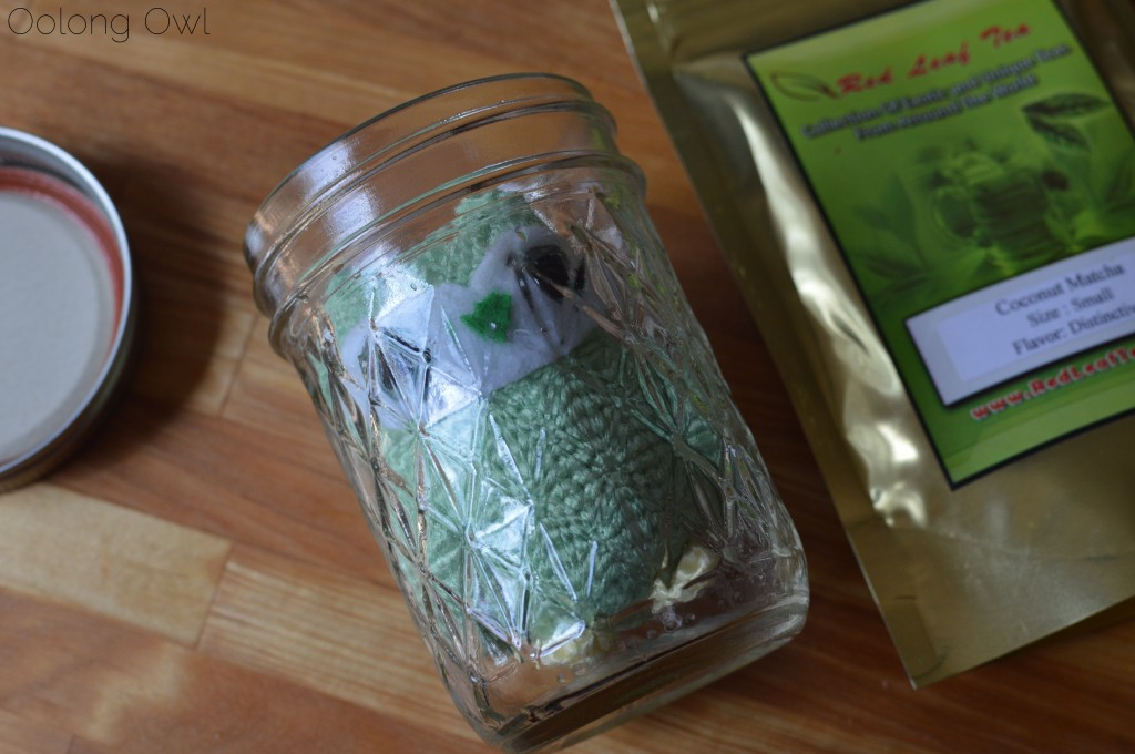 Coconut matcha from red leaf tea - oolong owl tea review (6)