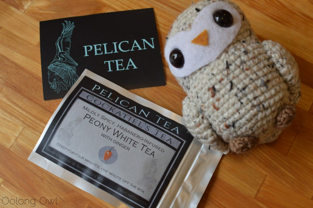 cockatiels tea from pelican tea - oolong owl tea review (1)