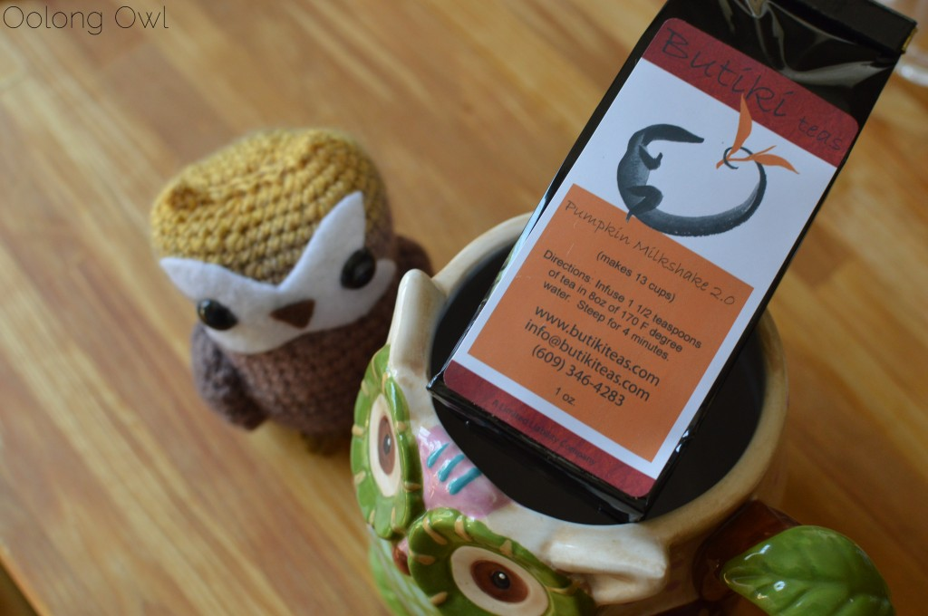 pumpkin milkshake 2 from butiki teas - oolong owl tea review (1)