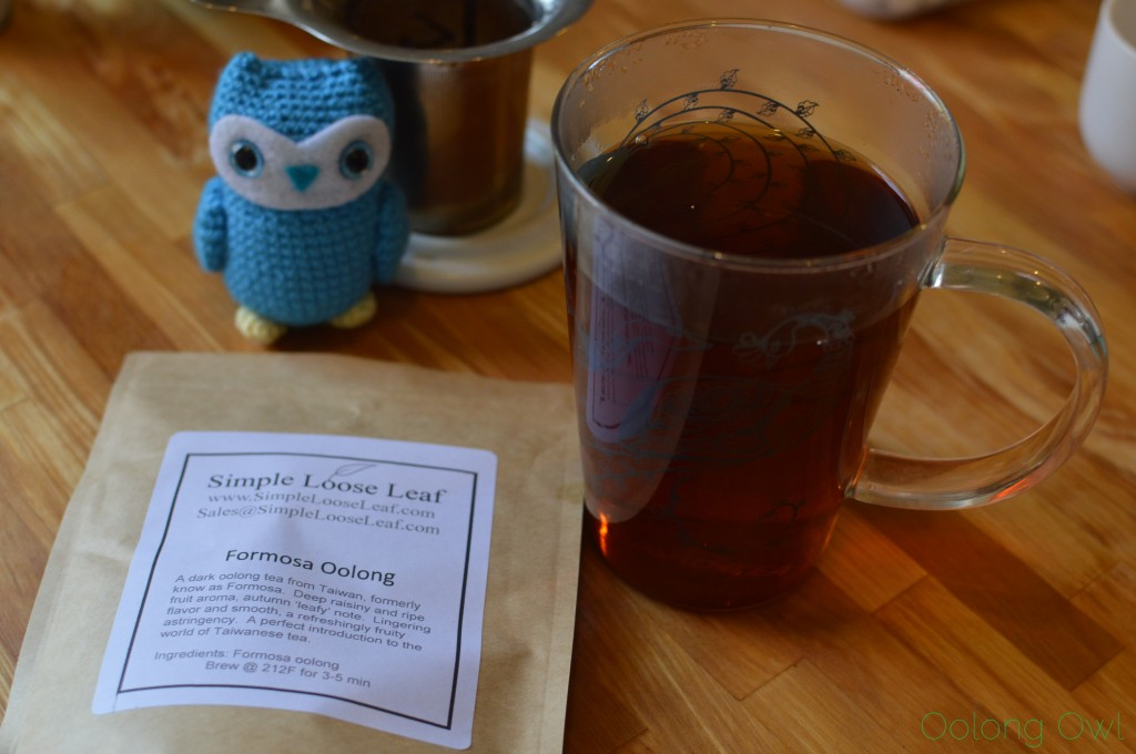 May simple loose leaf selection club - oolong owl tea review (5)