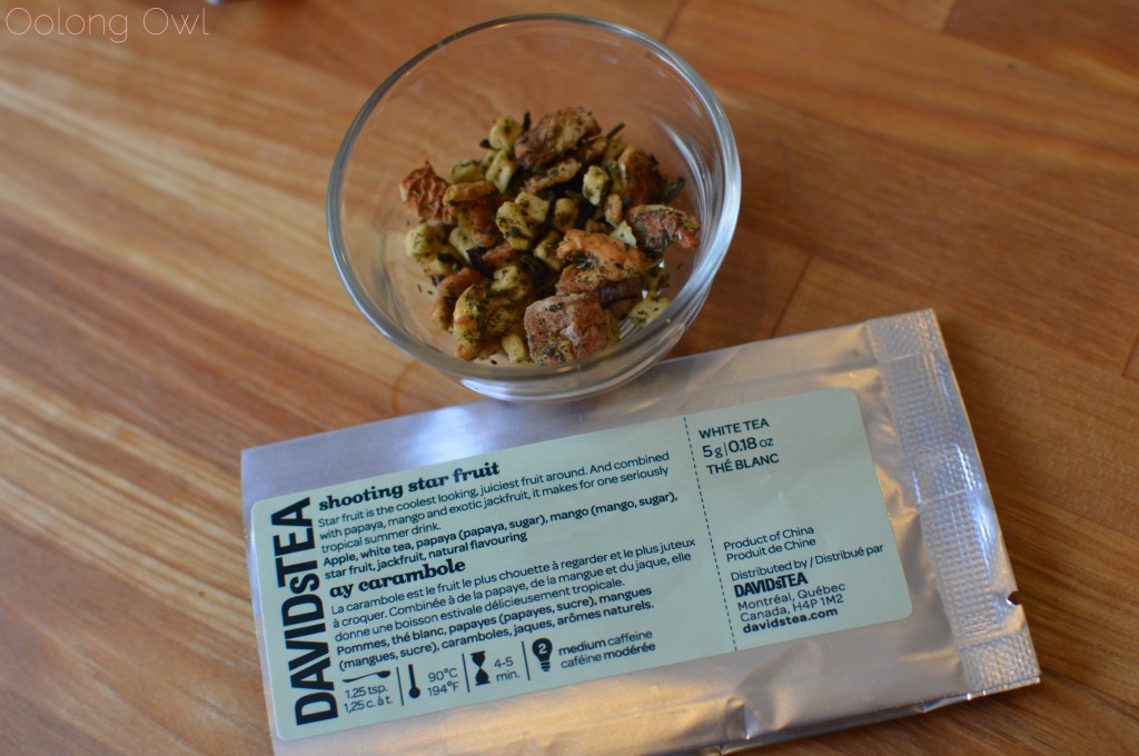 shooting star fruit and waterlemon mint from davidstea - oolong owl tea review (2)
