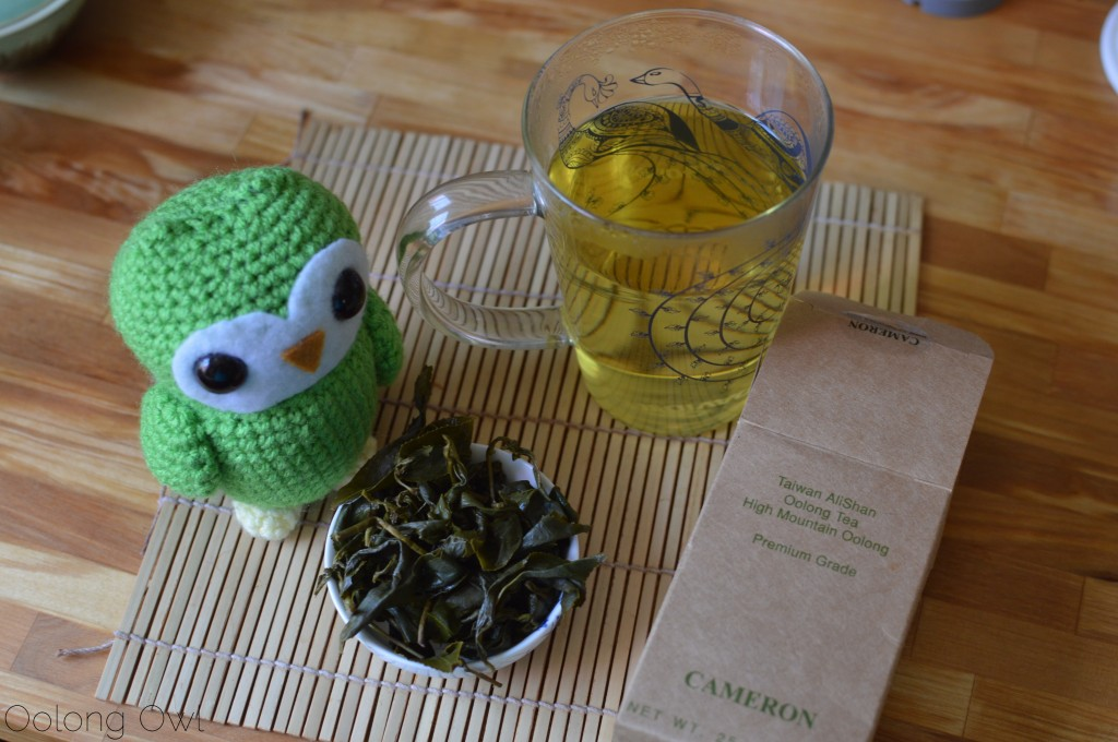 taiwan alishan high mountain oolong from cameron tea - oolong owl tea review (6)