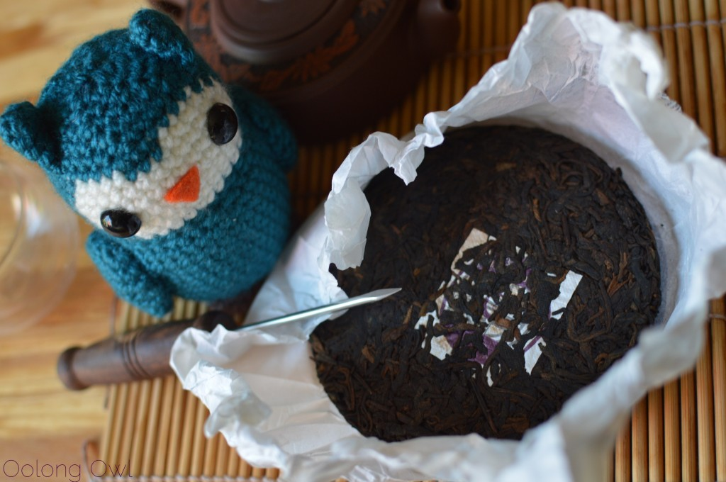 Phatty cake II from Mandala Tea - oolong owl tea review (3)