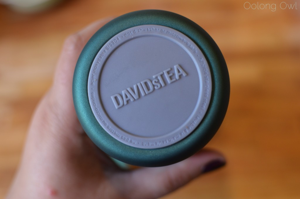 carry travel mug DavidsTea - oolong owl tea review (2)