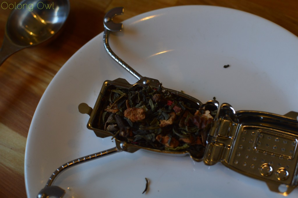 kikkerland robot tea infuser - oolong owl (7)
