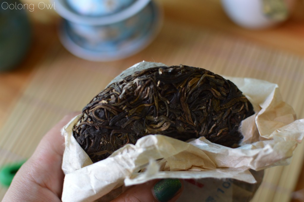 meng hun unfermented puer - jalam teas - oolong owl tea review (3)