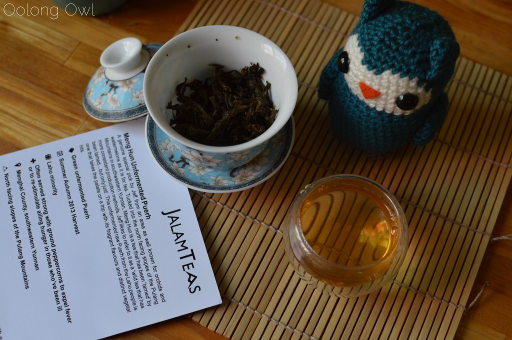 meng hun unfermented puer - jalam teas - oolong owl tea review (6)