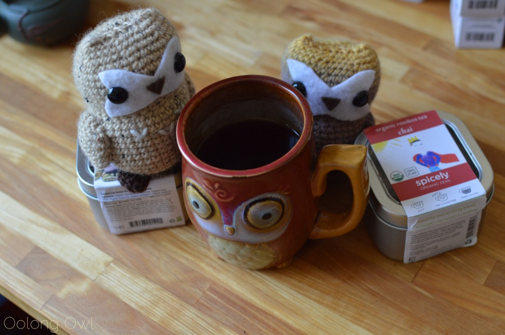 spicely tea infused chocolates and chai rooibos - oolong owl tea review (12)